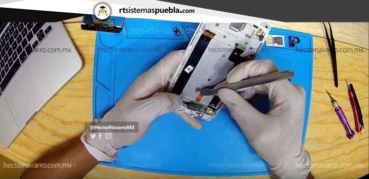 Despegar el flex del touchscreen