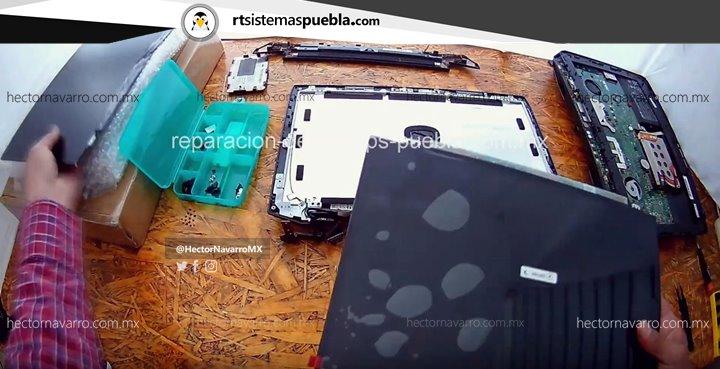 Reemplazar el LCD quebrado por uno nuevo