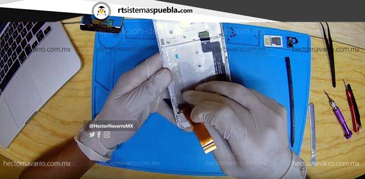 Despegar el flex del LCD