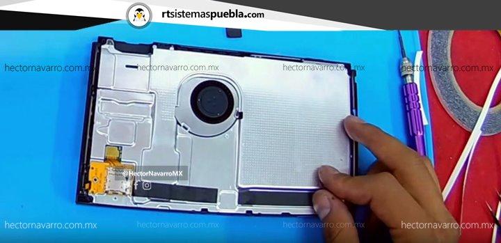 Colocar lector de microSD