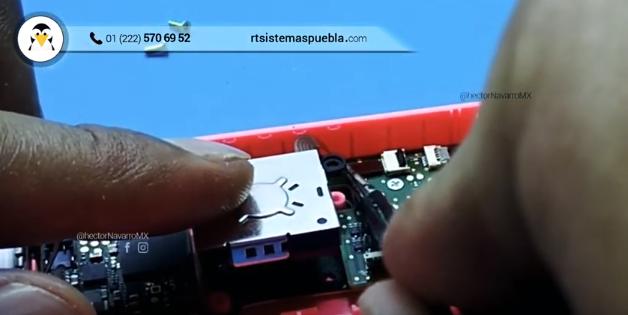 Conectar flexo del nuevo joystick